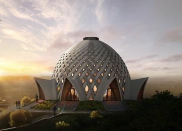Պապուա Նոր Գվինեա: Բահայի Պաշտամունքի Տունը ստանում է իր ձևը