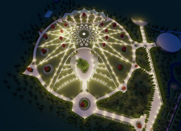 Աբդուլ-Բահայի դամբարանի կառուցումն ընթացքի մեջ է