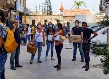 Բեյրութում երիտասարդները ստեղծում են արտակարգ իրավիճակներում օգնության ցանց